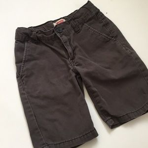 Levi's jean gray shorts